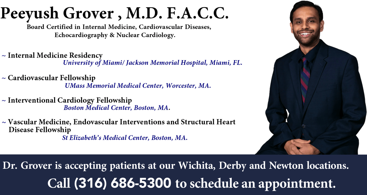 Heartland Cardiology Welcomes Dr. Grover