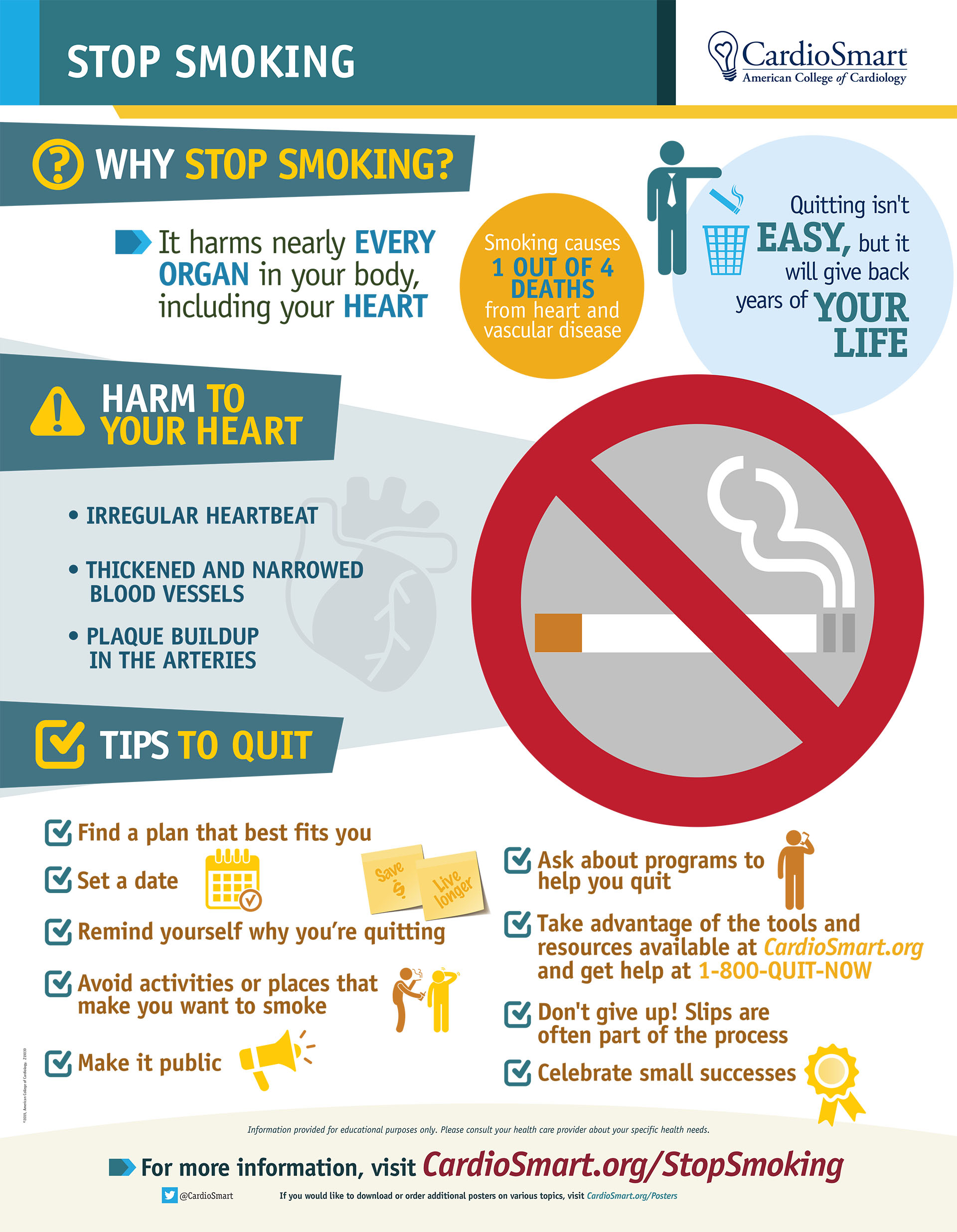 Stop Smoking [Infographic]